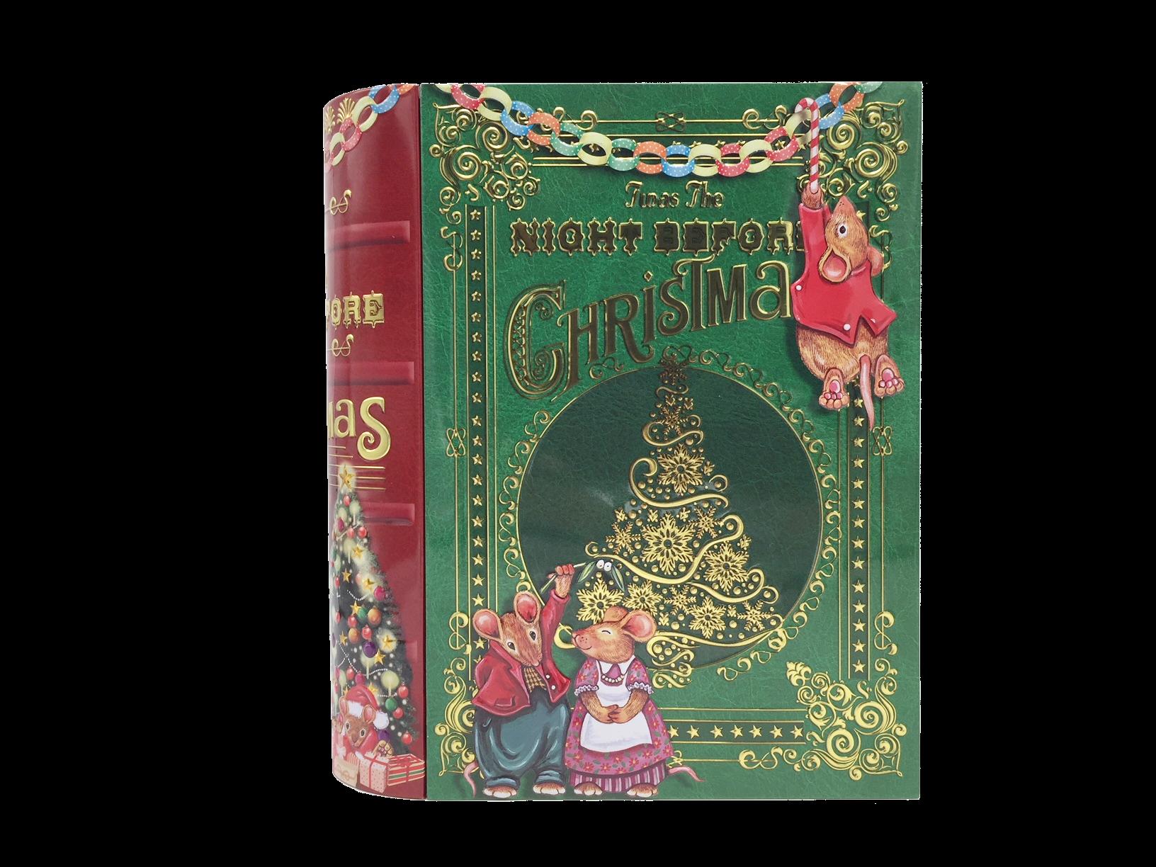 10770 Große Buchdose Night before Christmas