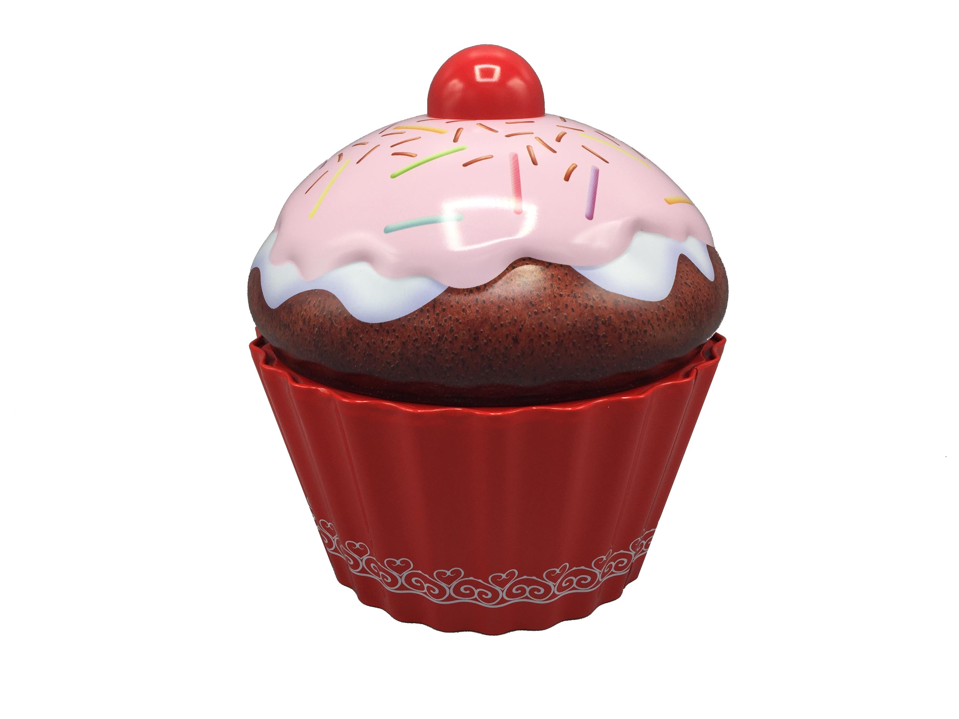 10200 Großer Cupcake mit Streusel