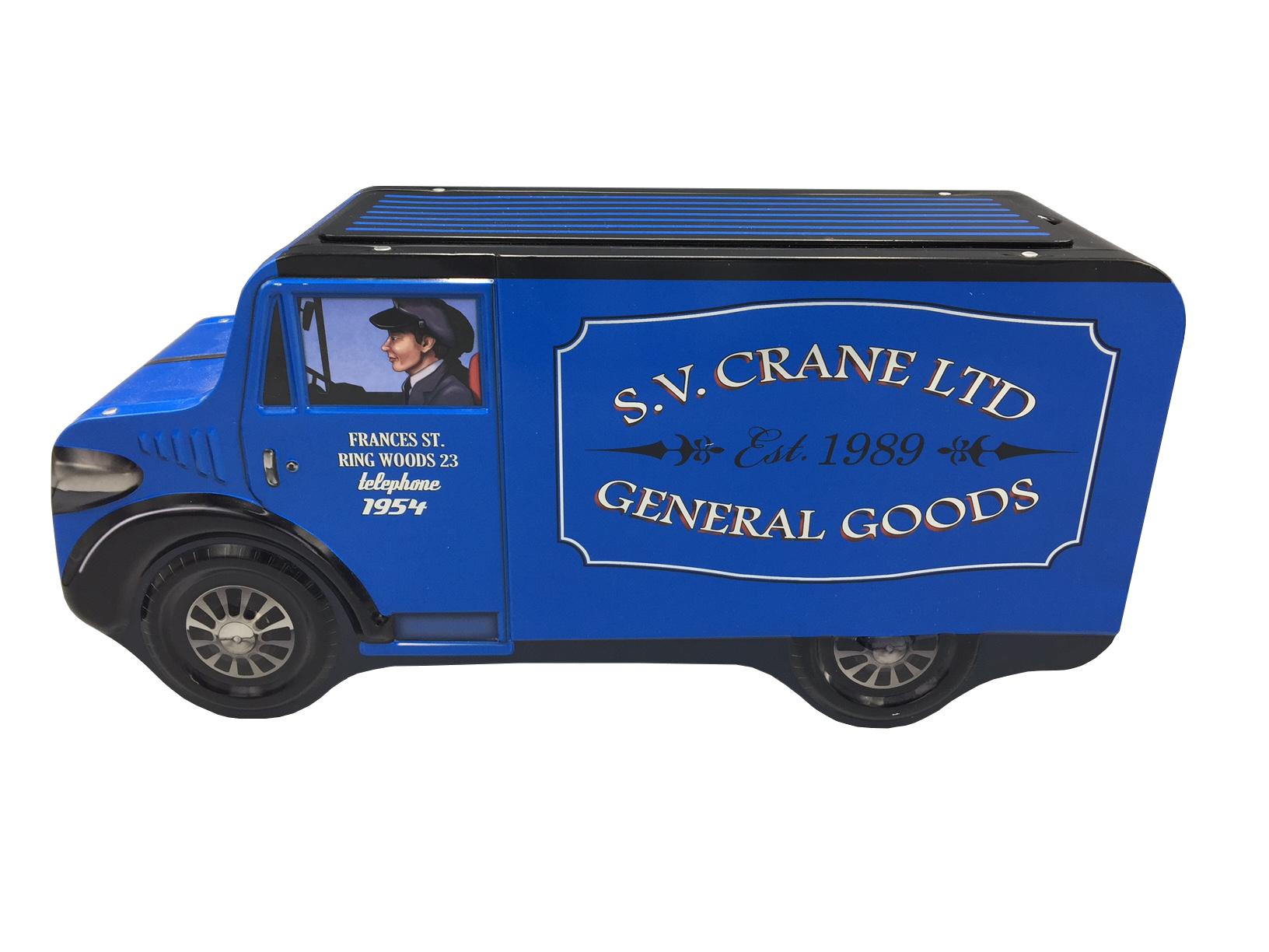 10050 Großer blauer Lieferwagen