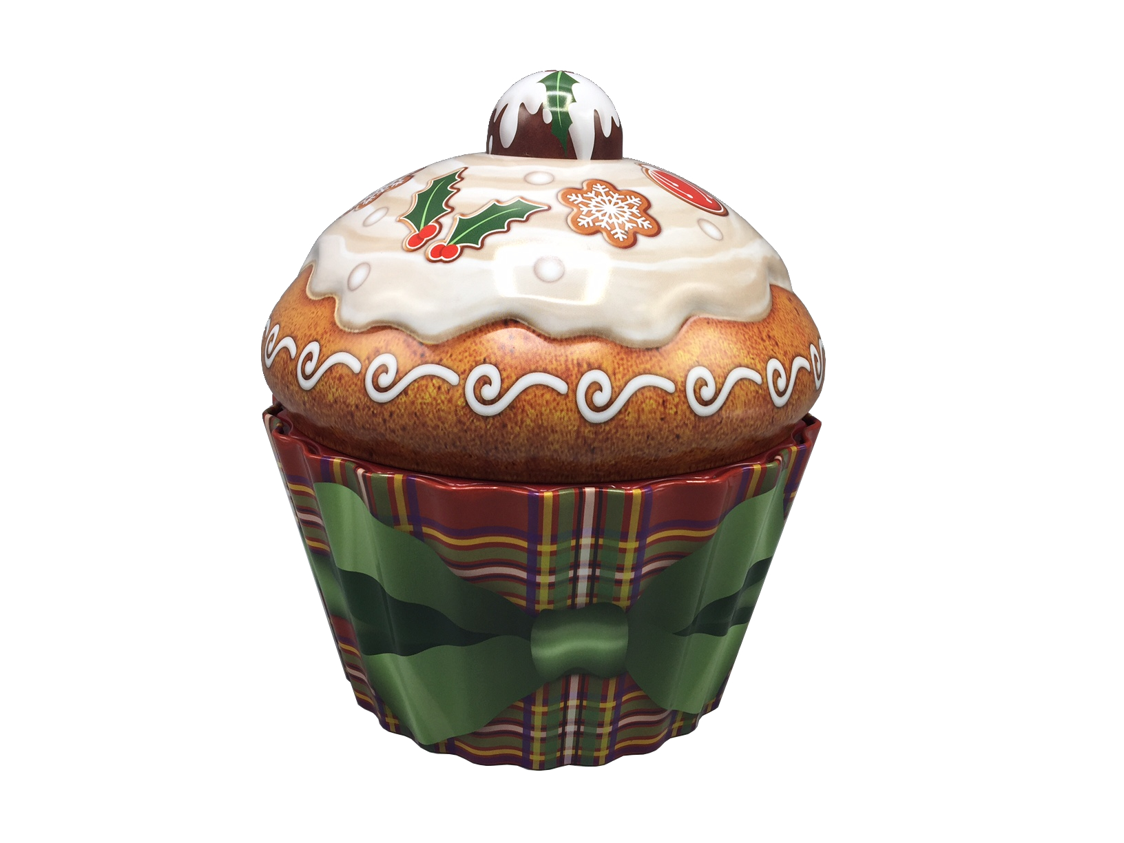 10205 Weihnachts Cupcake Pudding